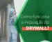 Como funciona a instalação do Drywall